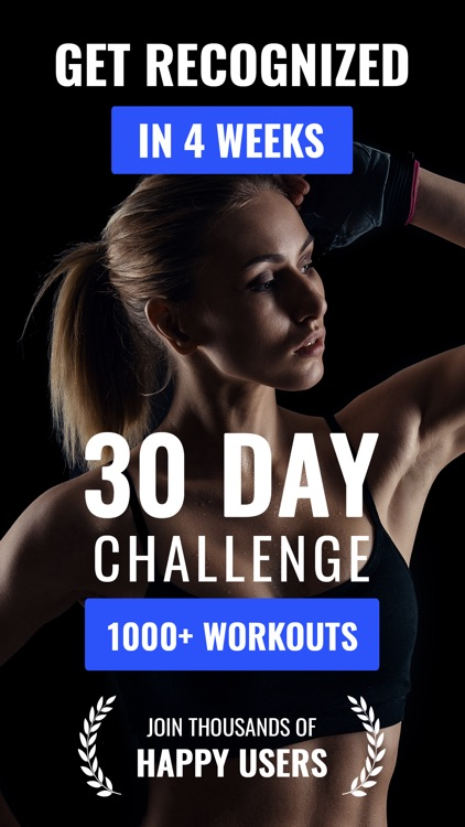 30 Day Fitness Challenge Fit30 screenshot-0