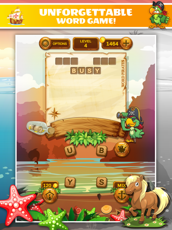 Word Pirates: Word Puzzle Game screenshot 7