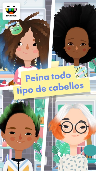 Screenshot for Toca Hair Salon 3 in Spain App Store