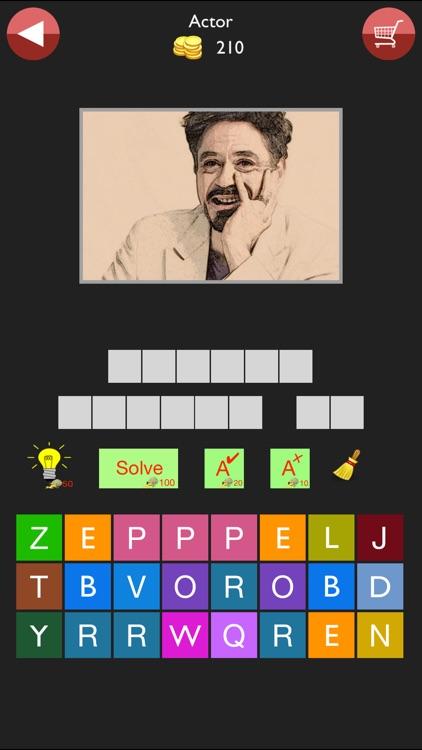 Celeb Quiz Pro-Guess Celebrity screenshot-6