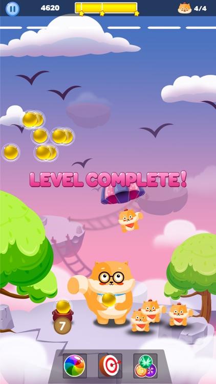 Bubble Shooter Cat World screenshot-3