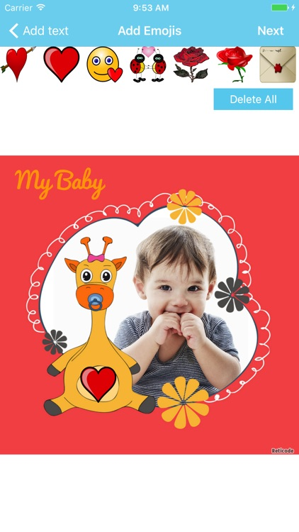 Baby Photo Frames & Editor