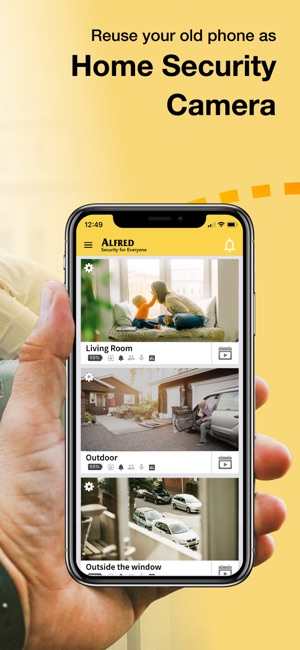 54738c434ebe59 Alfred Home Security Camera on the App Store