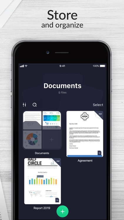 Scanner for Me: Scan documents screenshot-3