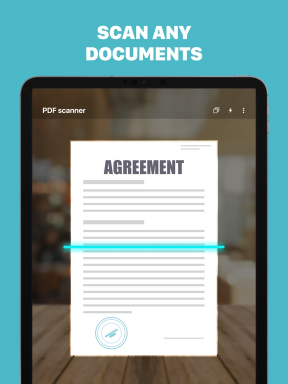 Ipad Screen Shot PDF Scanner - Scanly 0