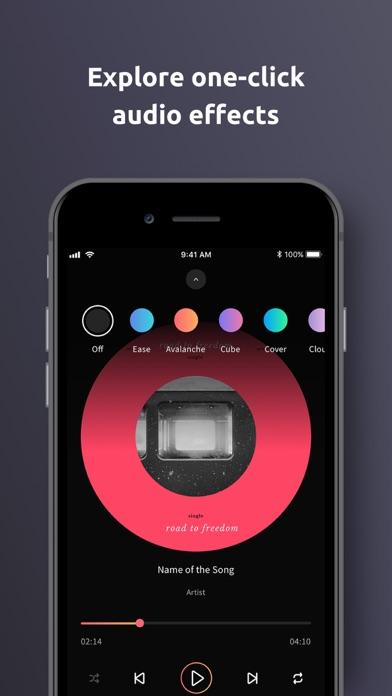 WHOOSHI Personal Audio Player screenshot four