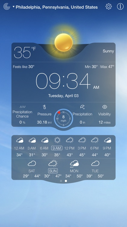 Weather Live゜ screenshot-2