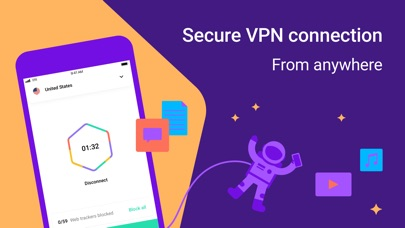 Hexatech Unlimited VPN Proxy Screenshot