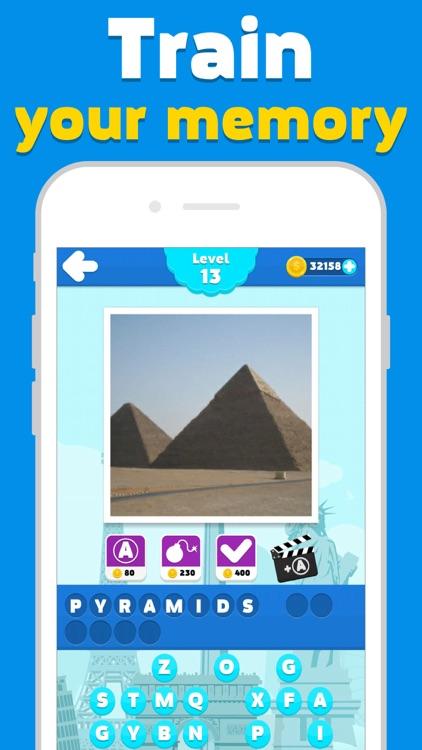 Attractions quiz - word game screenshot-4