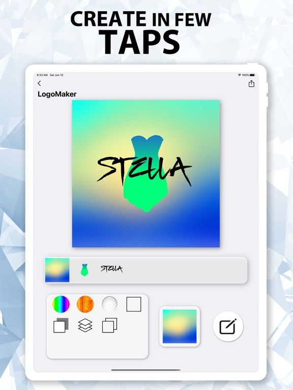 Ipad Screen Shot Logo Maker^ 1