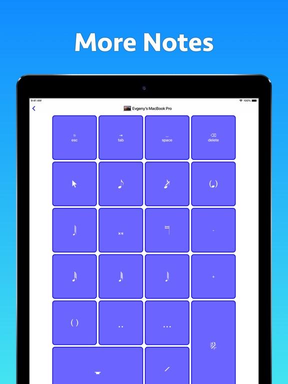 Screenshot #6 pour Sibelius KeyPad for Mac