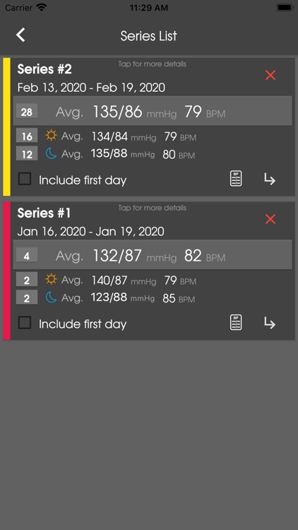 PreCardix Blood Pressure screenshot-4