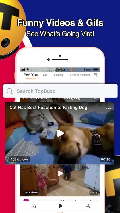 TopBuzz:Breaking News & Videos screenshot-3
