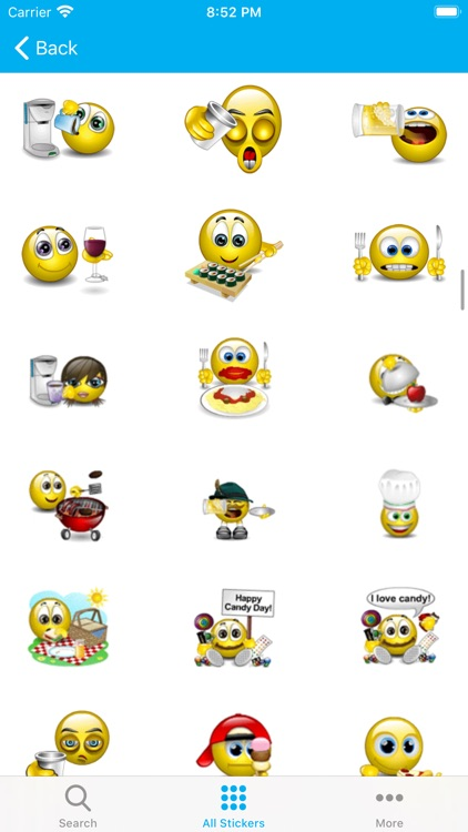Emojis 3D - Animated Sticker screenshot-4