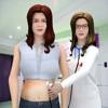 الأم الحامل محاكاة الحياة 3D
