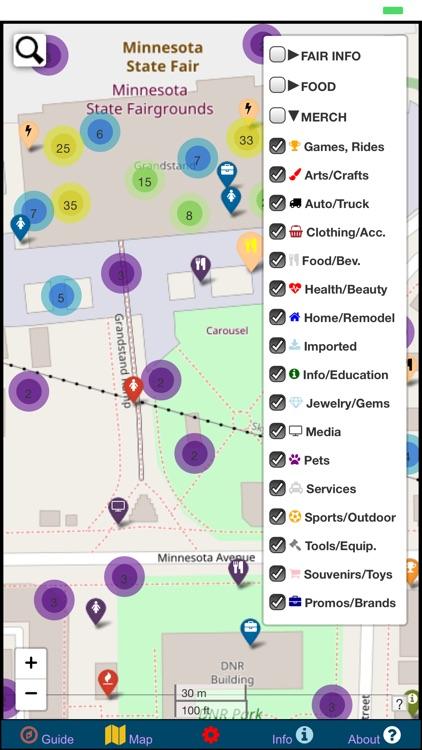 Minnesota State Fair Map Guide screenshot-8