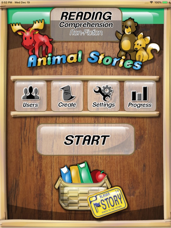 Reading – Animals: 2 & 3 Grade Screenshots