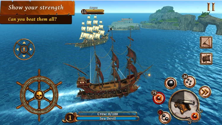 Ships of Battle Age of Pirates screenshot-4