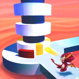 Fireball Hit: Tower Stack 3D