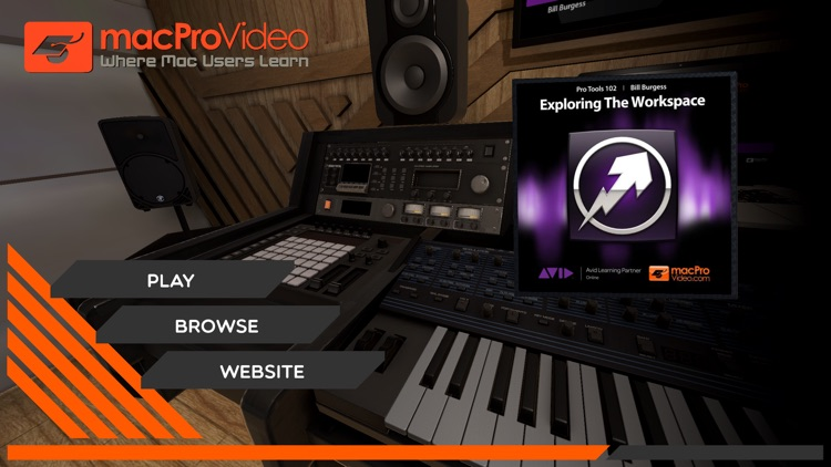 Workspace Course For Pro Tools screenshot-0