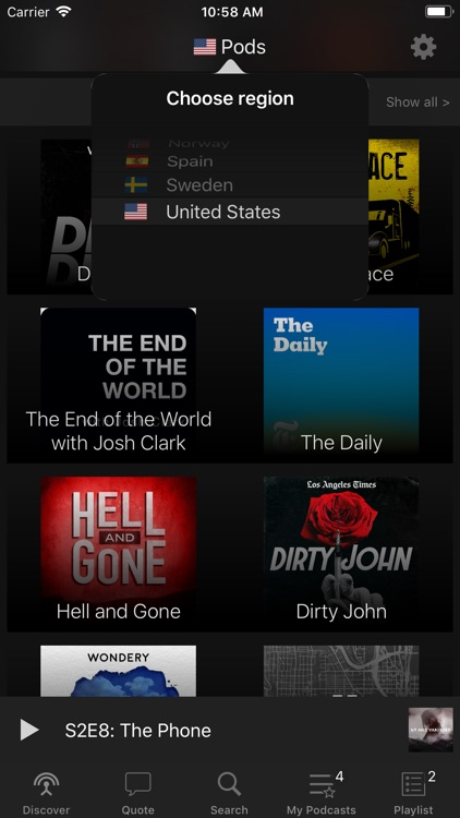 Pods - Podcast Player screenshot-6