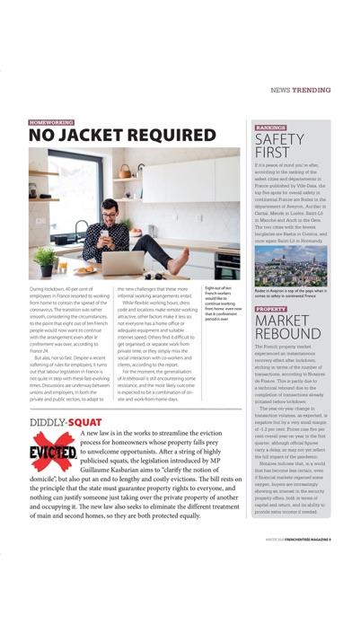 FrenchEntrée MagazineScreenshot of 9