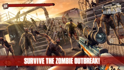 Screenshot for Zombie Frontier 3: Sniper FPS in India App Store