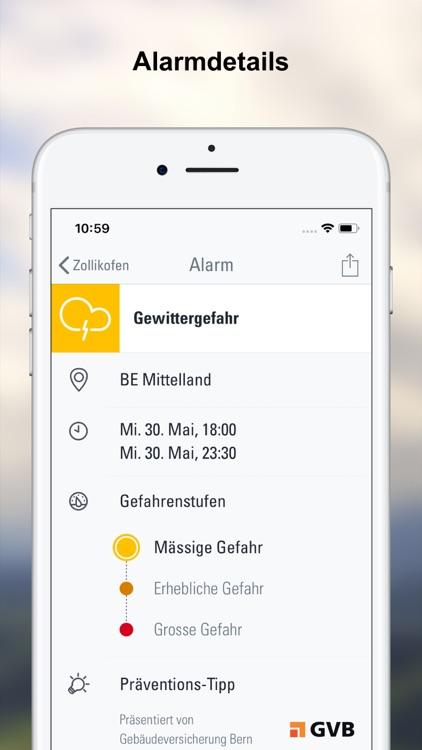 Wetter-Alarm: für die Schweiz screenshot-3