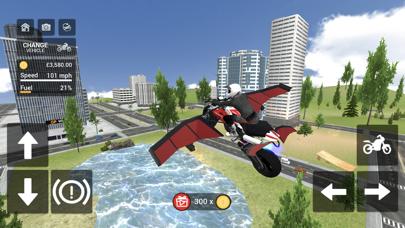 Flying Motorbike Simulatorのおすすめ画像4