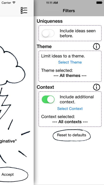 Idea Spark: Generate new ideas