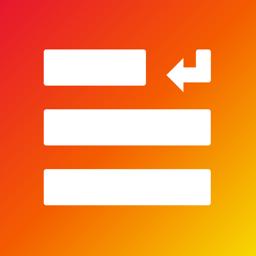 Ícone do app Add Line Breaks for Instagram
