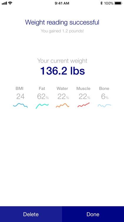 WW Body Analysis Scale Tracker screenshot-3