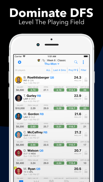 messages.download Daily Fantasy Cheatsheet software