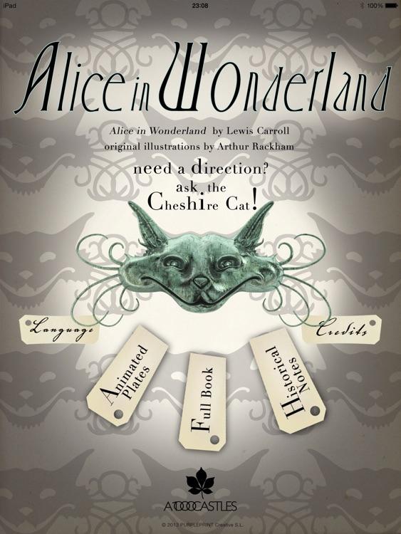 Alice in Wonderland, Arthur Rackham screenshot-3