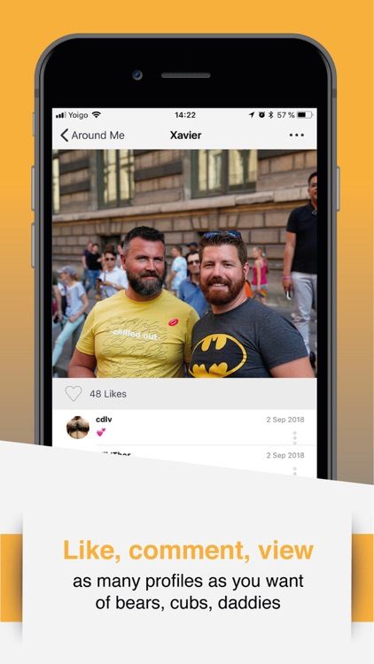 W | Bear: Gay Bear's Chat App screenshot-3