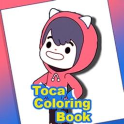 Toca Coloring book
