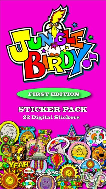 Junglebirdy Sticker Pack 1