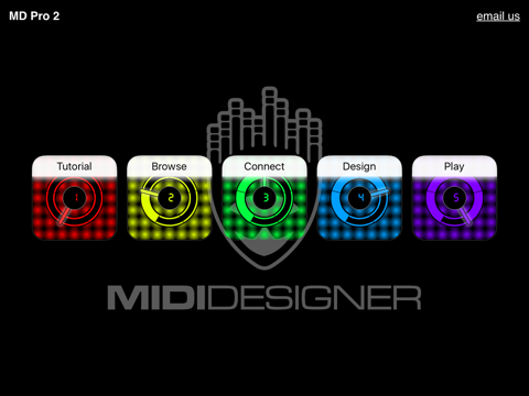 Screenshot #4 pour MIDI Designer Pro