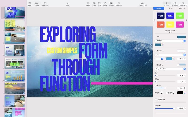 Keynote Screenshot