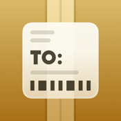 Deliveries: a package tracker icon