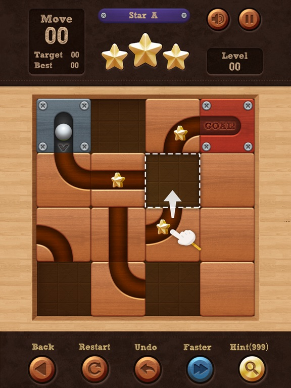 Скачать Roll the Ball® - slide puzzle