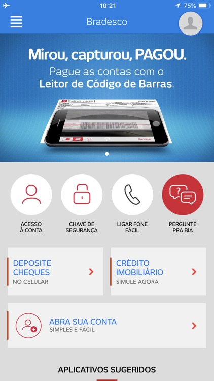 Bradesco screenshot-0