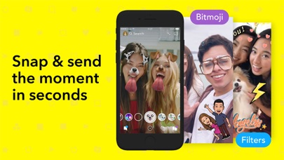 Screenshot for Snapchat in Hong Kong App Store