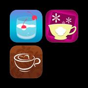 鸡尾酒,咖啡加美食-时尚女人的精致饮食食谱