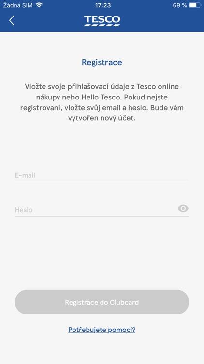 Clubcard Tesco Česko screenshot-8