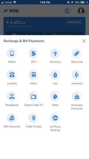 BSNL Wallet on the App Store