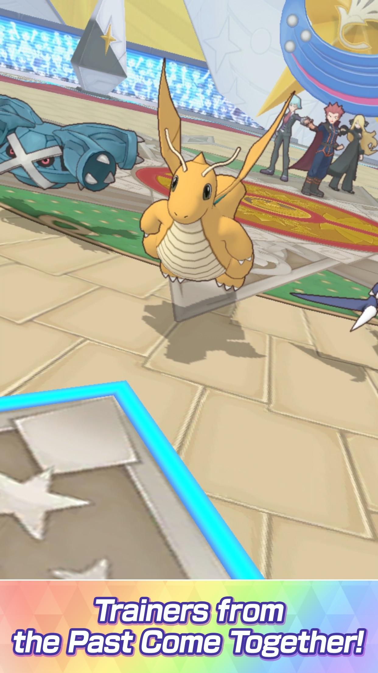 Screenshot do app Pokémon Masters EX