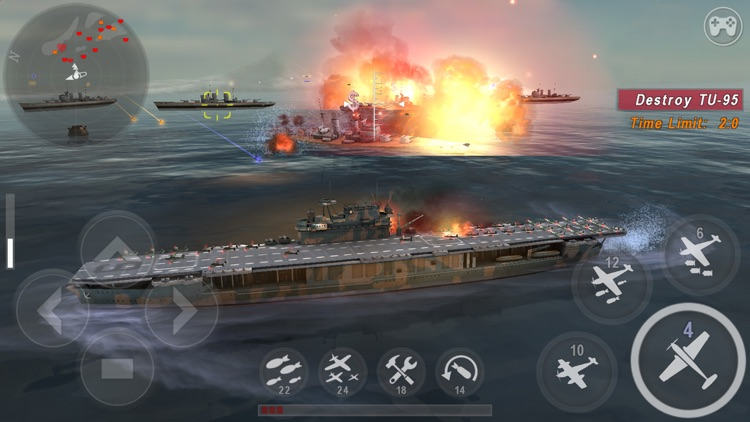WARSHIP BATTLE:3D World War II screenshot-0