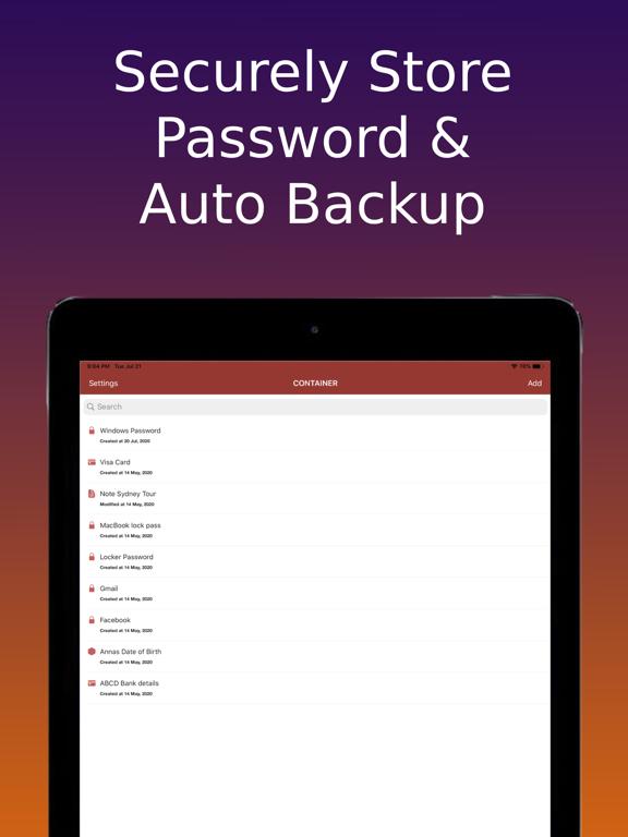 AASA Password Manager & Keeper Screenshots