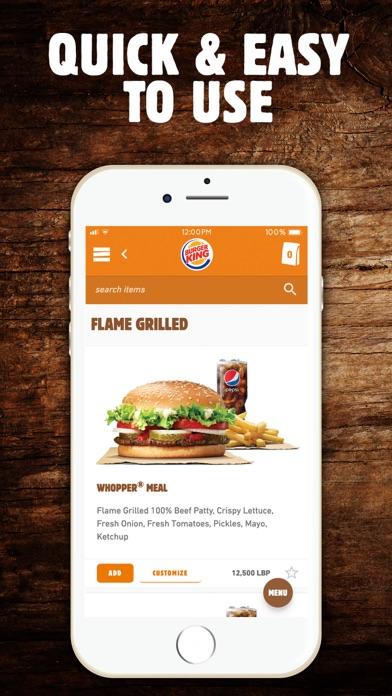 Screenshot for BK Lebanon - Order online in Lebanon App Store